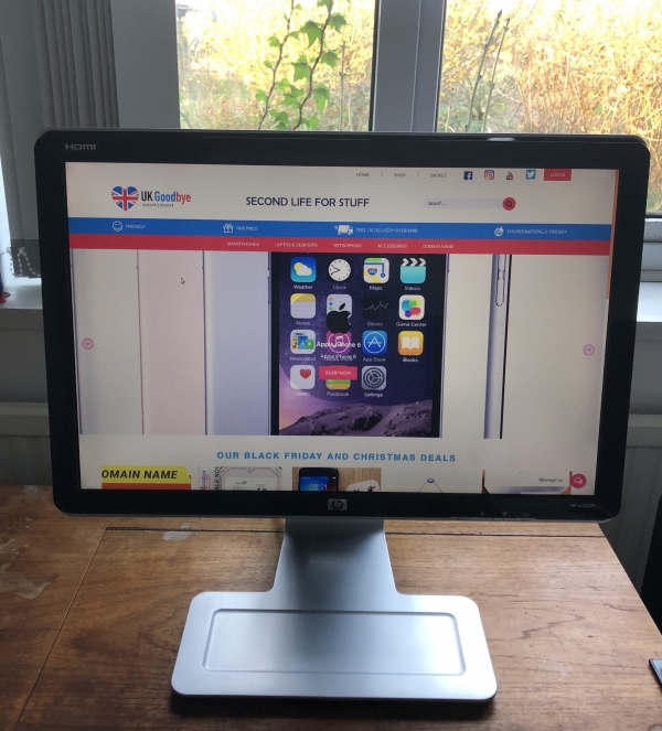 Second-hand HP W2207H 22-inch widescreen LCD Monitor