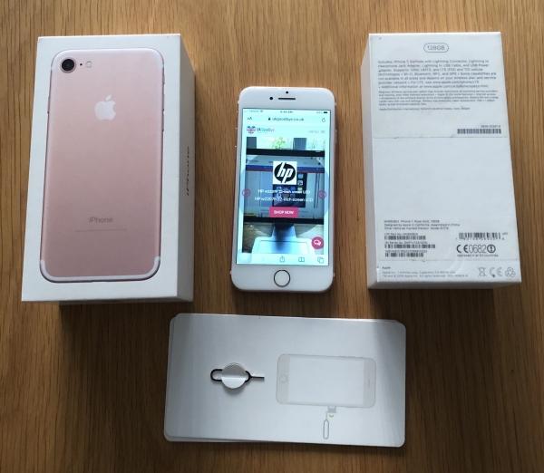Refurbished Apple iPhone 7 rose 128GB