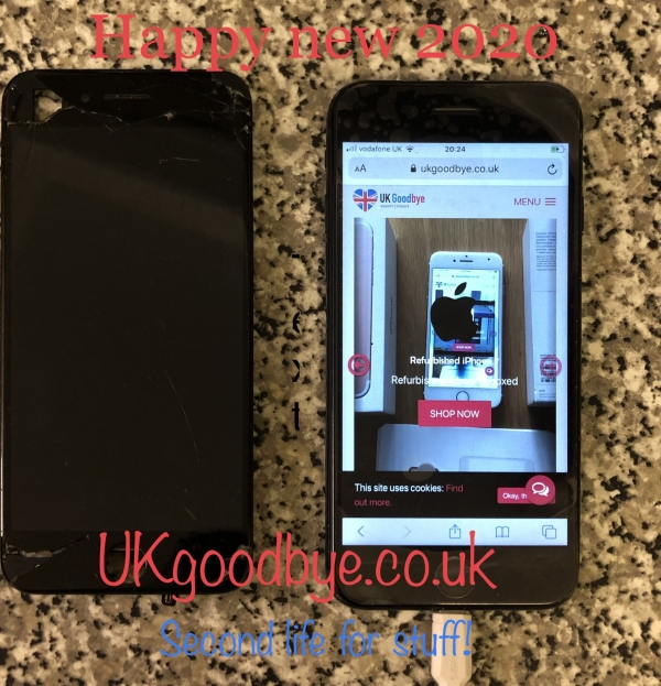 Repaired  Apple iPhone 7 32GB black