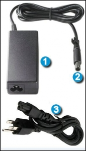 laptop charger components