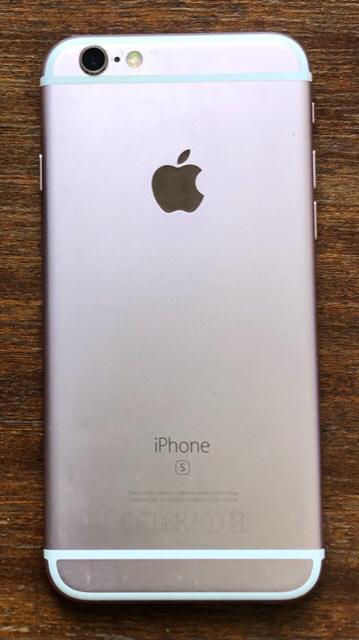 Second hand Apple iPhone 6s rose, 64GB, battery health 91%