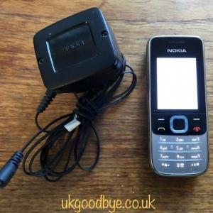 Nokia model 2730c-1 type RM-578 locked to Vodafone